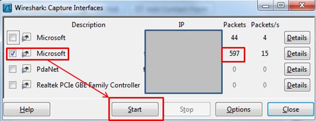 Packet capture - step 4
