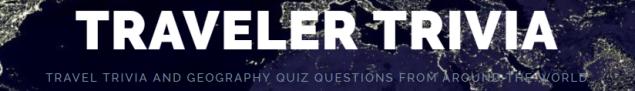 Traveler Trivia site